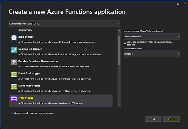 Create a C# function using Visual Studio Code - Azure ...