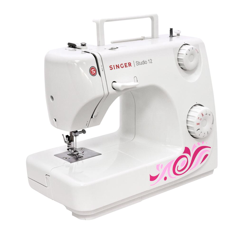 Швейная машина JANOME SINGER Studio, передняя и левая части