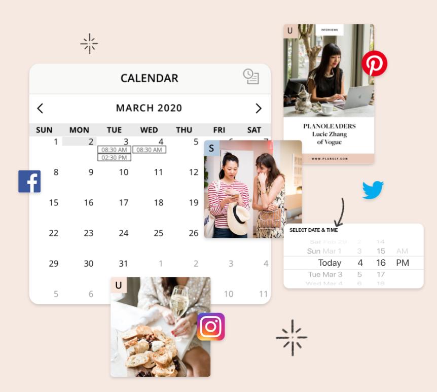 instagram post ideas calendar