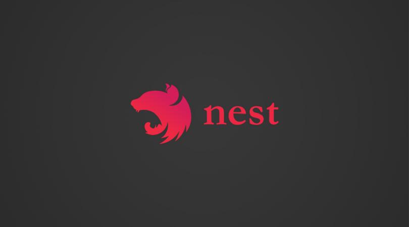 imagem com o logotipo de NestJS