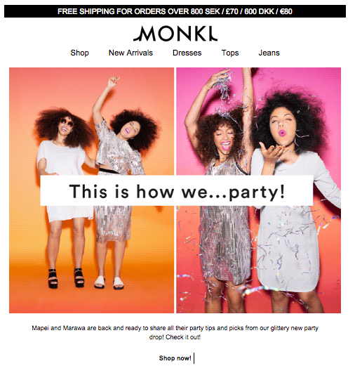 monki email