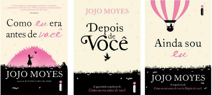 Editora Intrínseca, Jojo Moyes, Como eu era antes de você, Depois de Você, Ainda sou eu