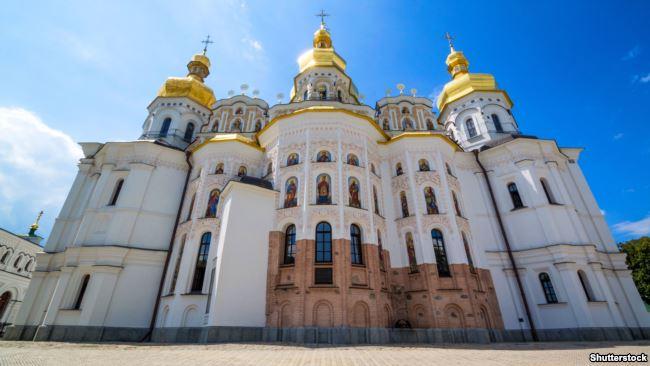 Відбудований Успенський собор Києво-Печерської лаври