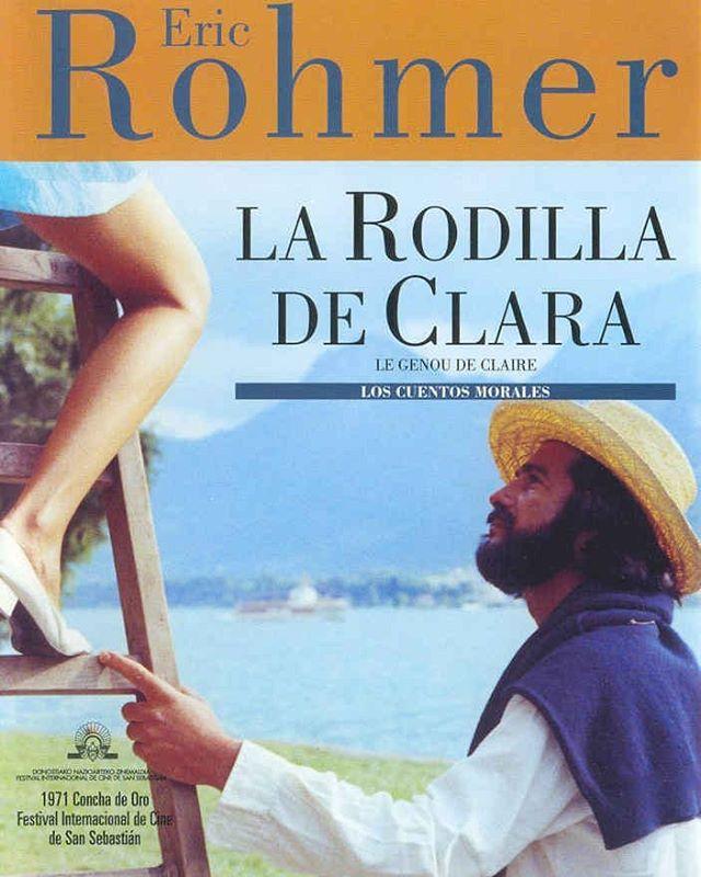La rodilla de Claire (1970, Éric Rohmer)