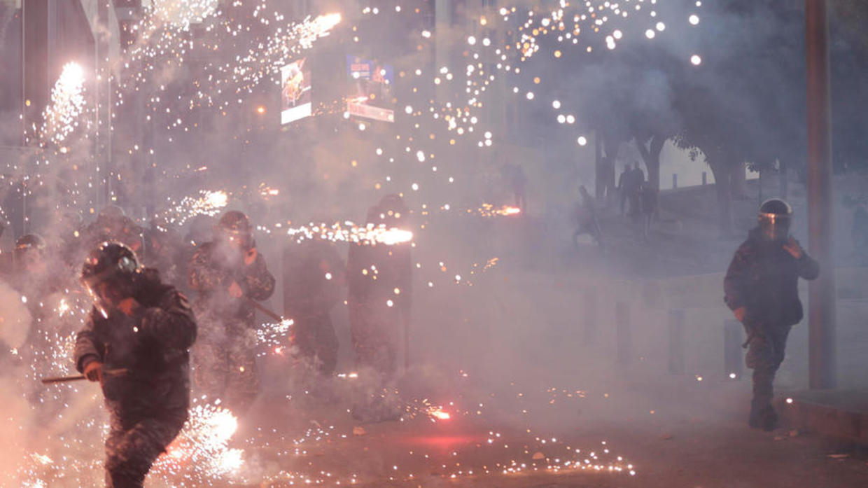 "Image result for clashes lebanon fireworks"""