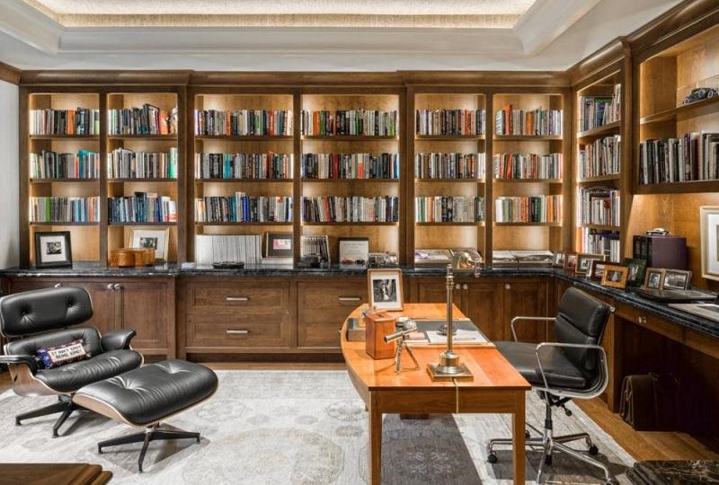 Thiết kế phòng đọc sách kết hợp nơi làm việc
