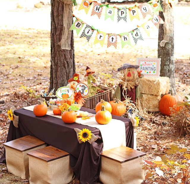 Kids Birthday Party Ideas For Fall