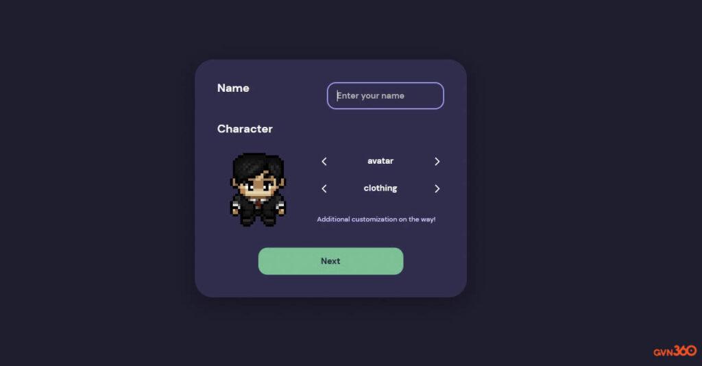 Người dùng có thể tùy chỉnh nhân vật đại diện của mình trong Gather