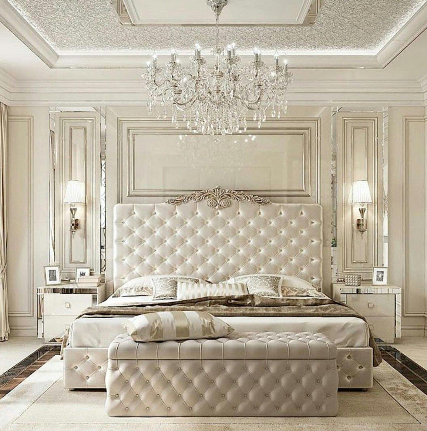 Phòng ngủ đẹp nhất màu kem