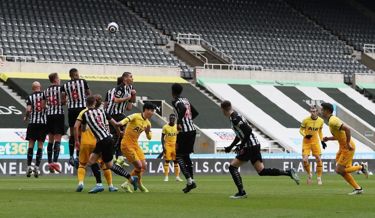Ở lần đối đầu gần nhất, Newcastle United đã hòa Tottenham với tỷ số 2-2