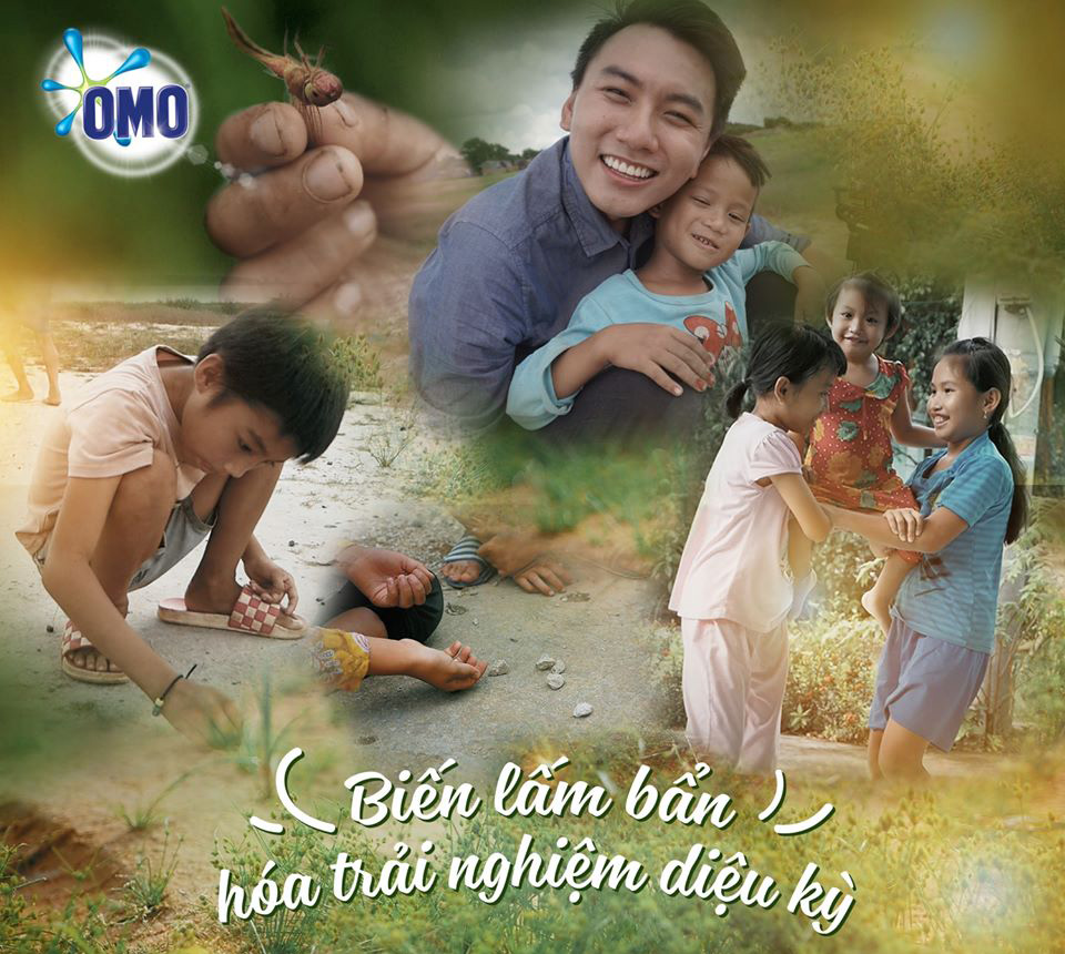 """Khoai Lang Thang hợp tác với nhãn hàng OMO trong hành trình """"Gom góp chân thành"""""""