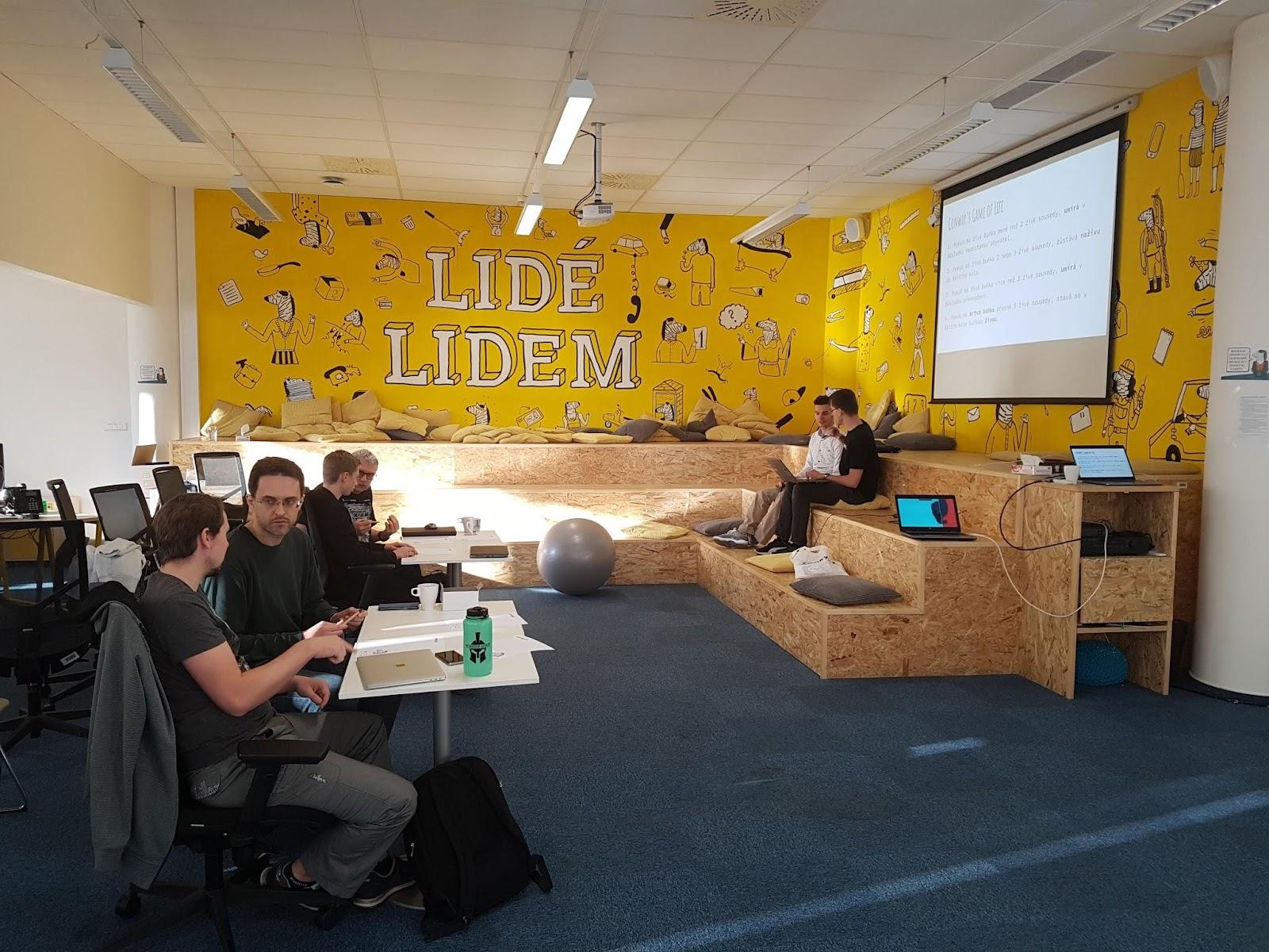 Coderetreat 2018 v Praze v kancelářích Zonky