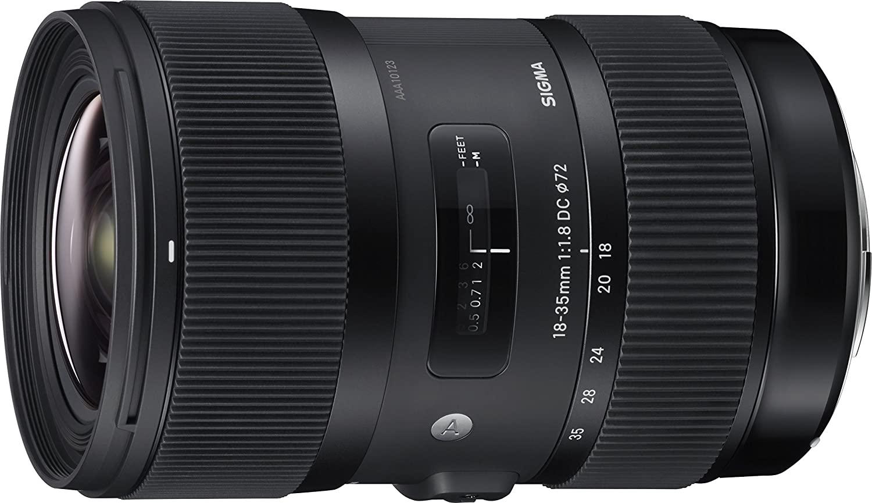 Sigma 18-35 F/1.8 DC HSM Art Lenses For Camera Best Lenses For Camera In India
