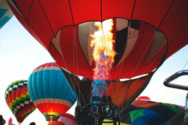 गरम हवा का गुब्बारा