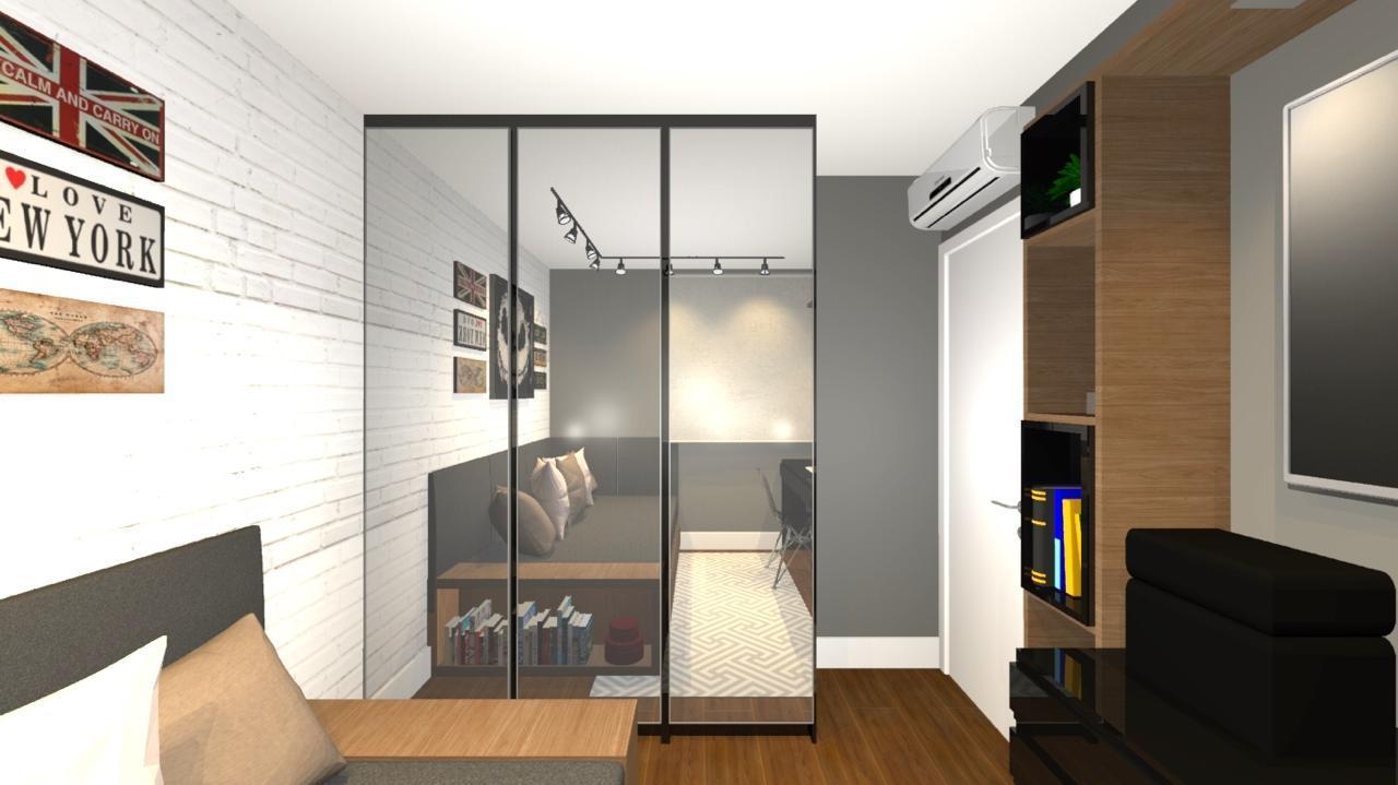 Uma imagem contendo interior, chão, parede, teto  Descrição gerada automaticamente