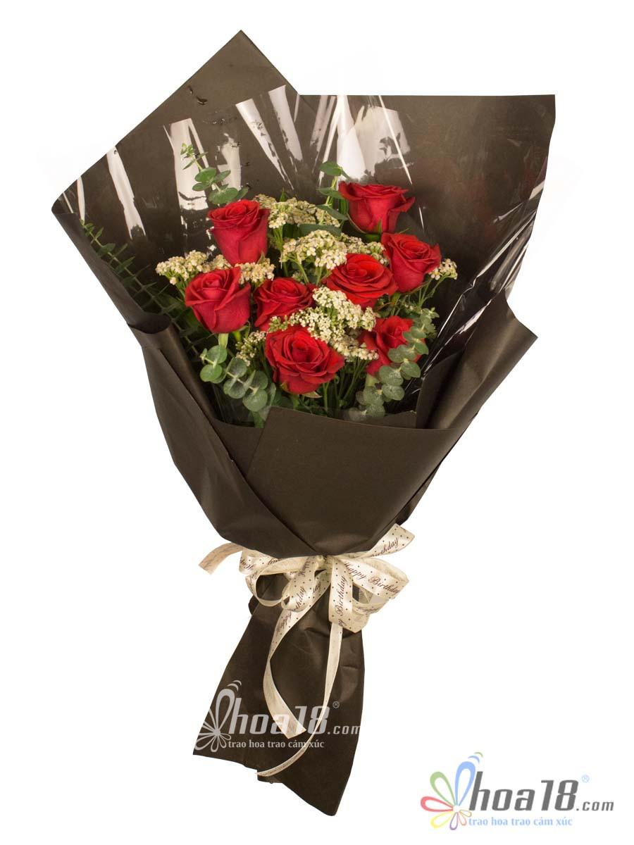 bó hoa tặng ngày 14 2 đẹp