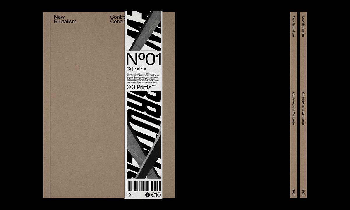 Editorial Design : New Brutalism Controversial Concrete 25