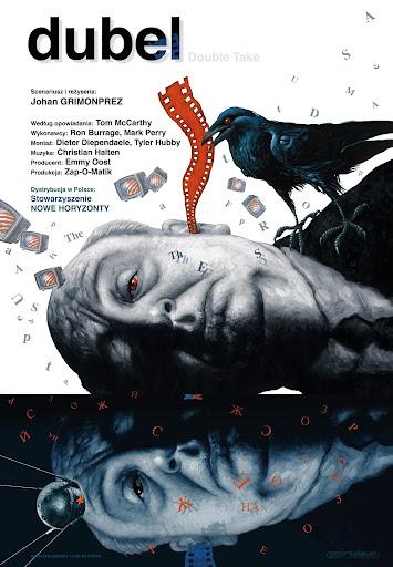 Polski plakat filmu 'Dubel'