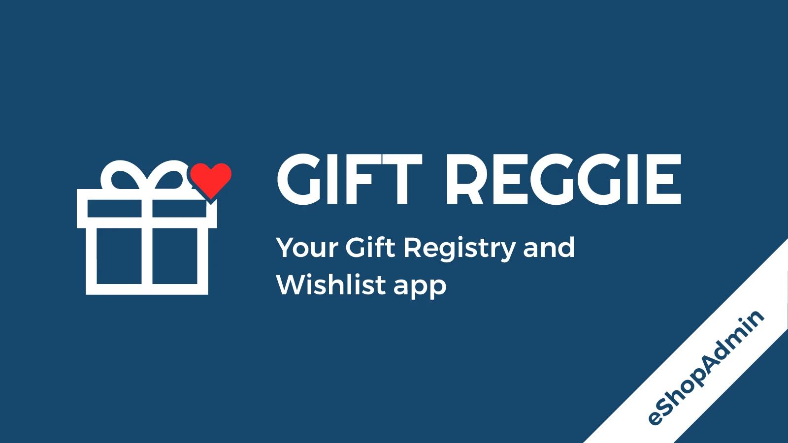 Gift registry app for shopify