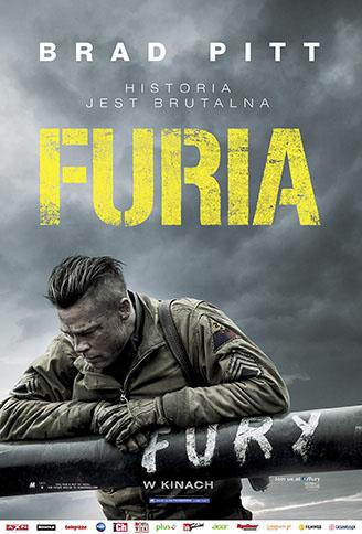 Polski plakat filmu 'Furia'