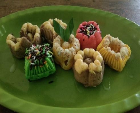 Rone Arisman Kue Putu Ayu Makanan Khas Daerah Yang Dimodifikasi