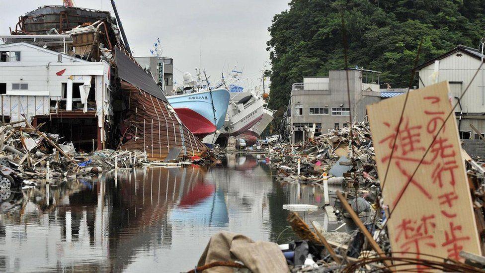 Землетрус в Японії 2011 року