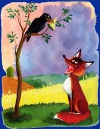 نتيجة بحث الصور عن le renard et le corbeau