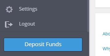 """Deposit Funds"" of etoro"