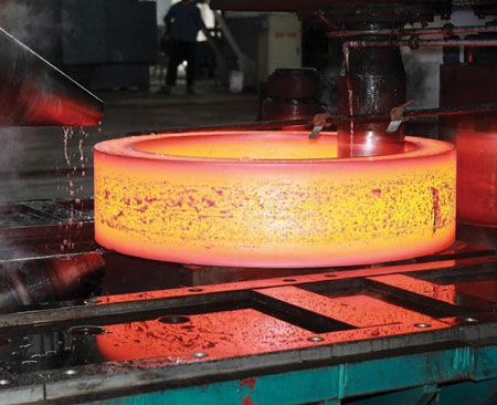Process of forging stainless steel