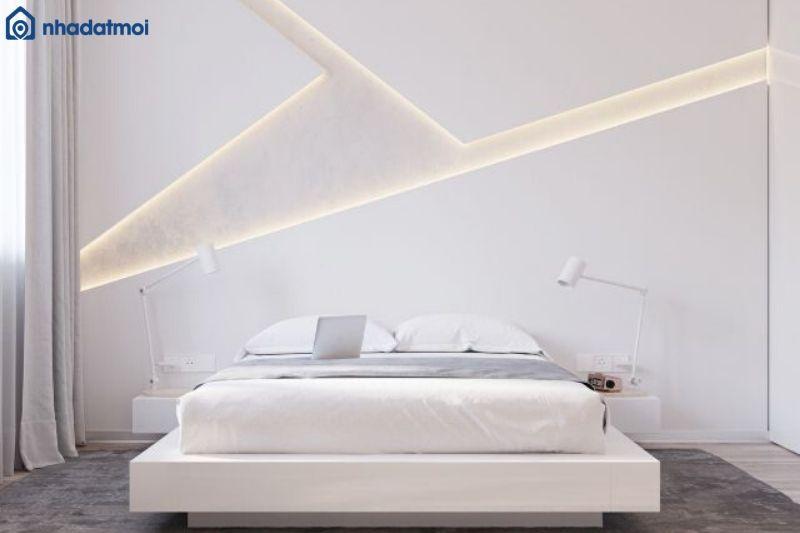 Trang trí phòng ngủ bằng đèn led
