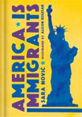 Cover for America Is Immigrants