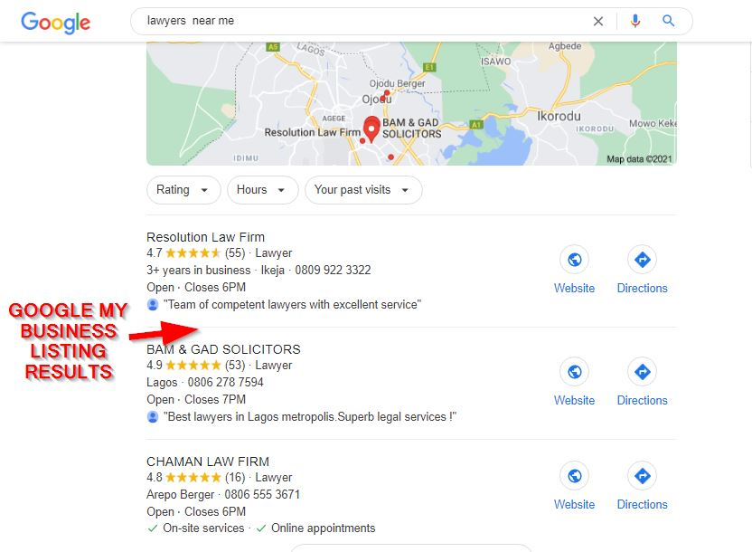 Small business SEO - Local Listings on Google My Business