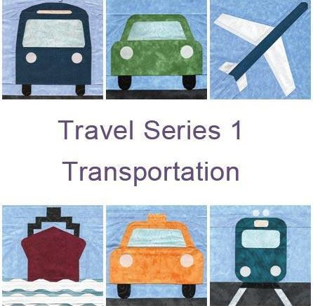 Travel Quilt: Forms of Transportation