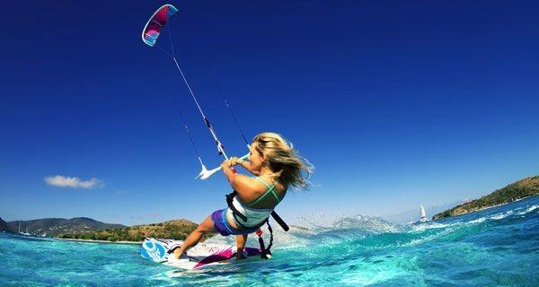 clase individual curso kitesurf tarifa
