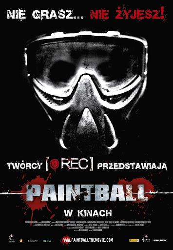 Polski plakat filmu 'Paintball'