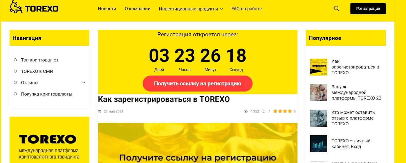 Отзывы о Torexo: стоит ли инвестировать? реальные отзывы