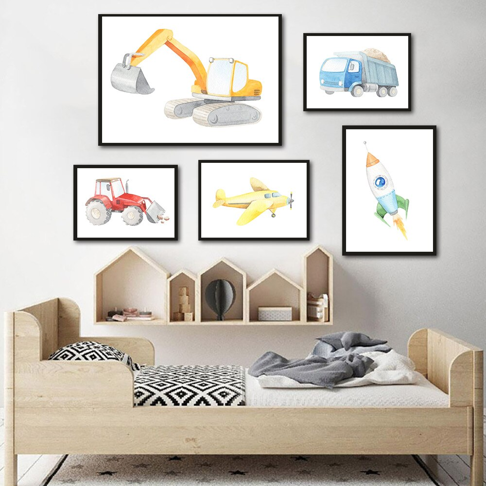 A Fun Pictures Wall Corner For Your Kids