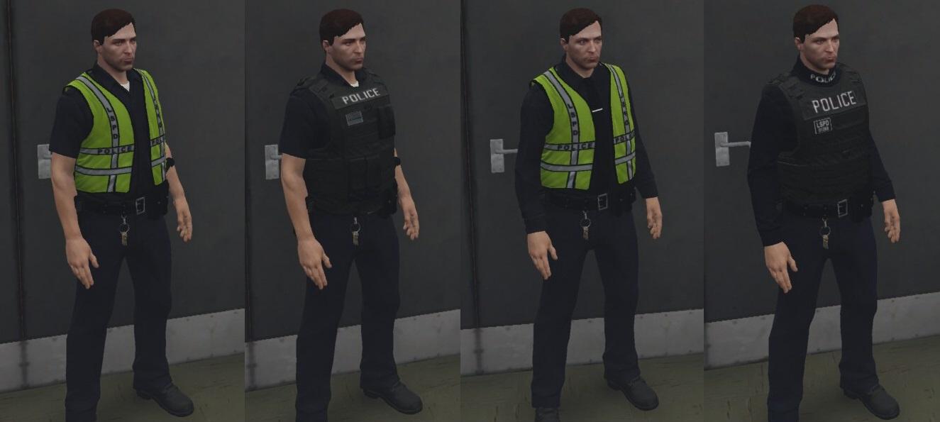 Uniform Policy - PD - FiveM - Aspirant Gaming