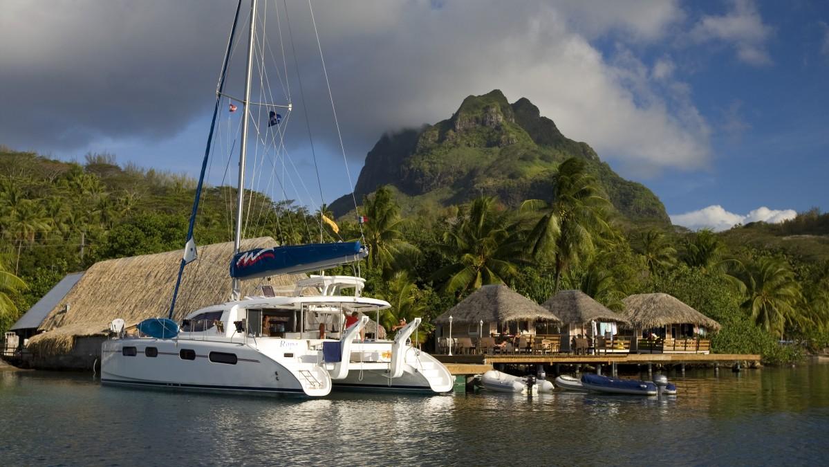 Аренда яхты в Полинезии без капитана
