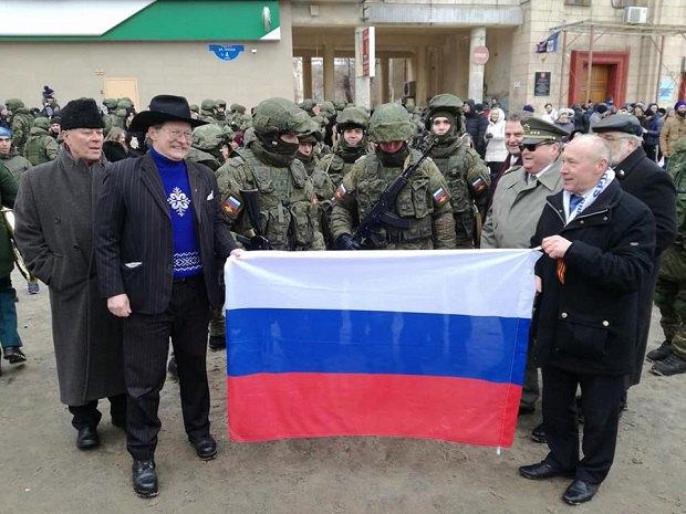 Чешские депутаты в аннексированном Крыму