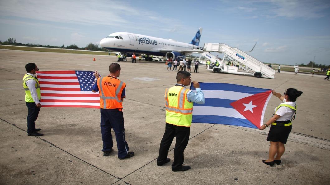 圖/達志影像路透 川普加重制裁禁飛9機場 古巴旅遊業蕭條