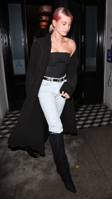 hailey bieber winter outfits 4
