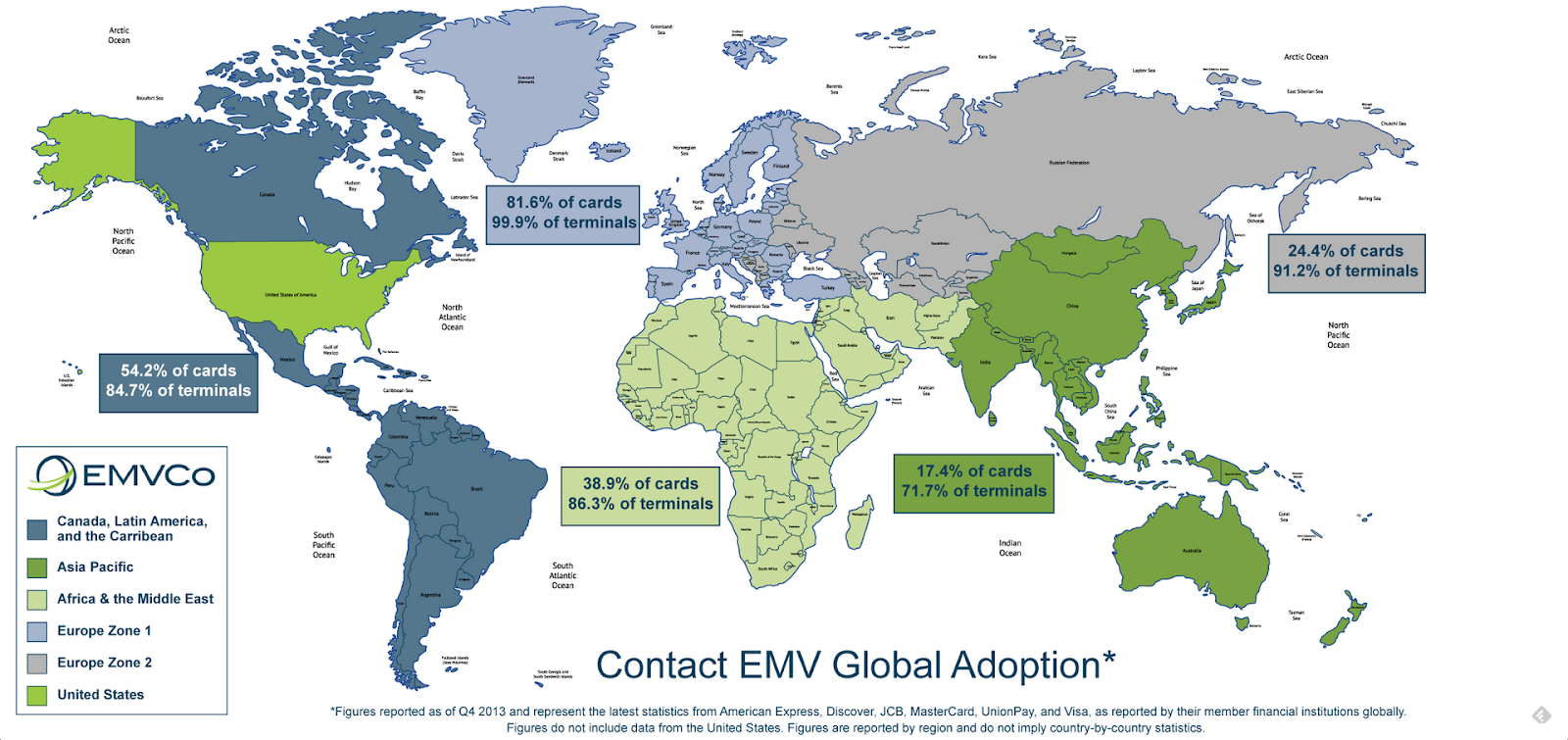Contact EMV Global Adoption vs Apple Pay - Moblized