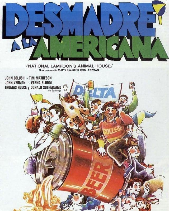 Desmadre a la americana (1978, John Landis)