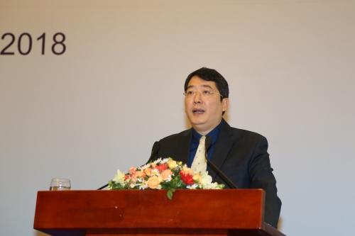 Ông Cao Anh Tuấn - Phó Tổng cục trưởng Tổng cục Thuế phát biểu tại Hội nghị