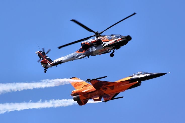 Jet pilots vs. helicopter pilots