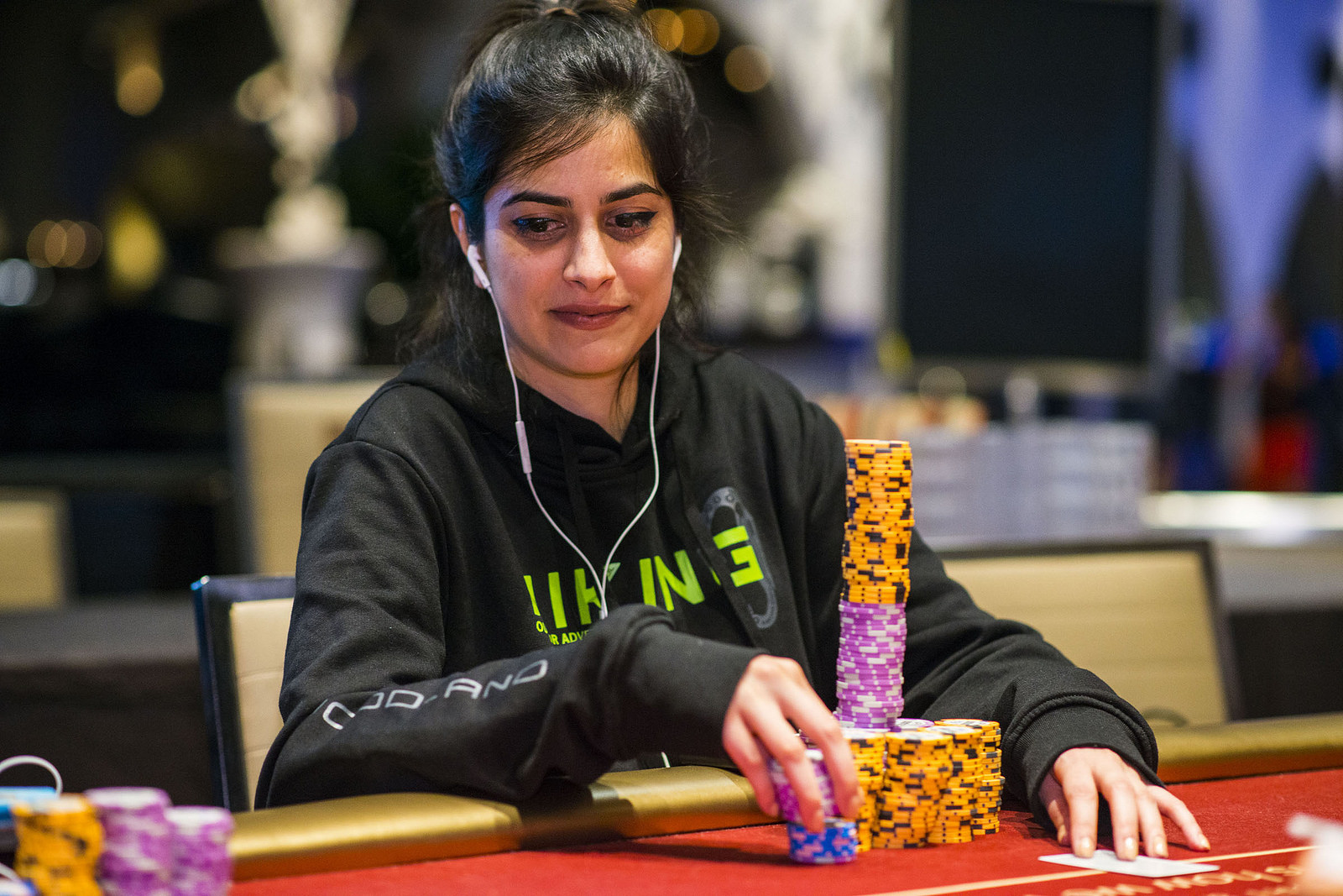Nikita Luther - One of the poker queens of India