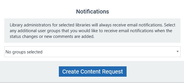 Admin Training - Content Requests