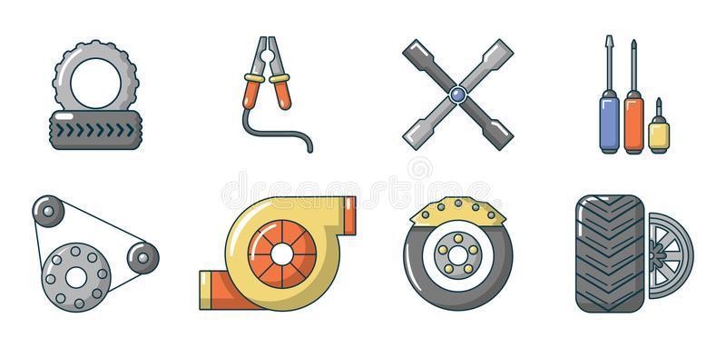Cartoon Auto Parts Stock Illustrations – 823 Cartoon Auto Parts Stock  Illustrations, Vectors & Clipart - Dreamstime