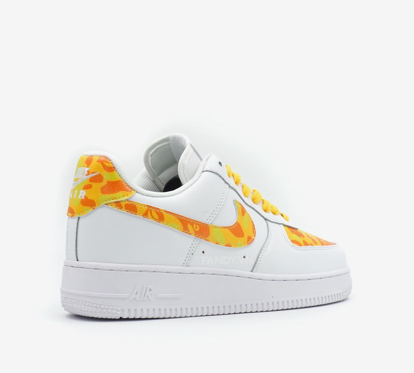 Giày Nike Air Force Low 1 07  Bape Fire